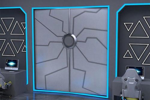 网红自动门 感应门  电动门